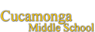 Cucamonga Middle School  Logo